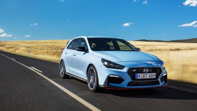 2018 Hyundai i30N is only equipped with a manual transmission.
