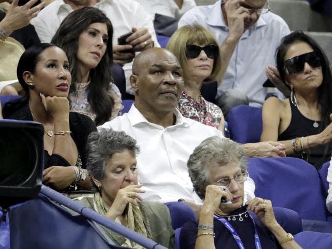 Former boxer Mike Tyson. Picture: AP Photo/Julio Cortez