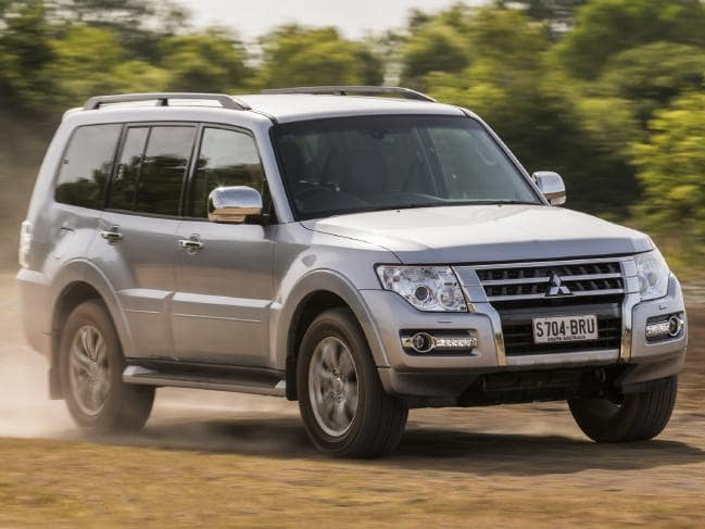 Mitsubishi Pajero: No longer a petrol option but diesel suits modest touring