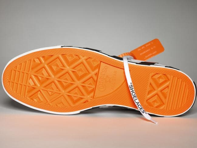 The orange-soled sneakers everybody wants. Picture: Converse