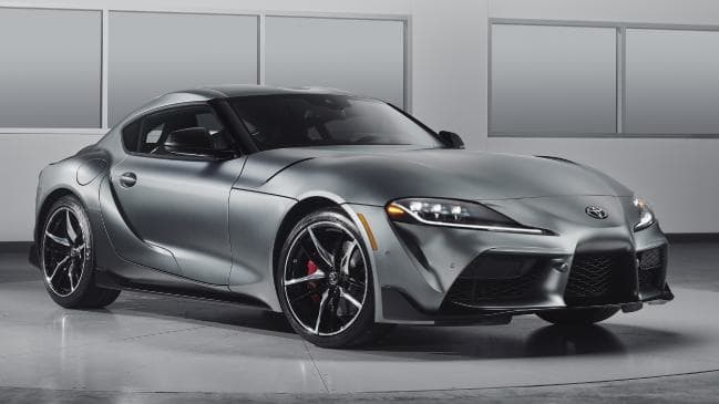 Toyota Supra: Shares underpinnings with the Z4.