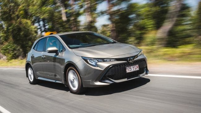 Toyota recently recalled the Corolla for transmission faults. Picture by Thomas Wielecki