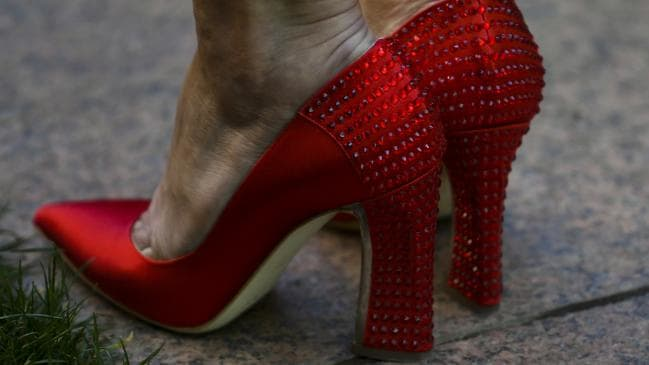 Julie Bishop: the OG boss of red stuff. Pic: AAP