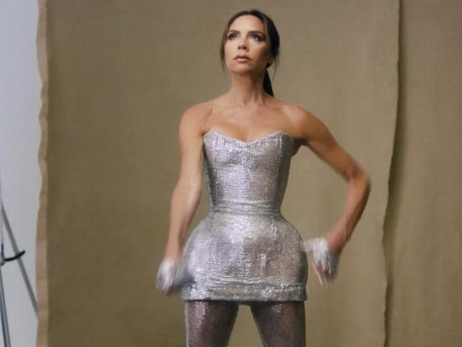 The sequined dress she wore during Spice Girls farewell concert. Picture: British Vogue