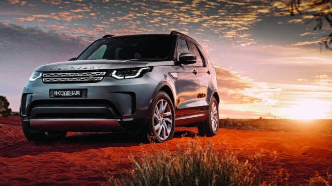 The Land Rover Discovery is capable of road but a LandCruiser is far superior. Pic: supplied