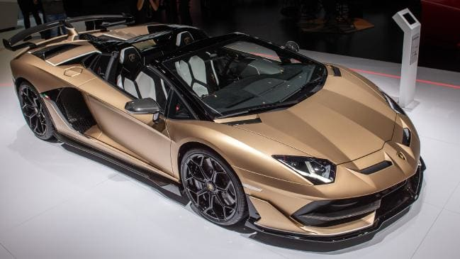 The Aventador SVJ Roadster is one of Lambo's most hardcore machines.