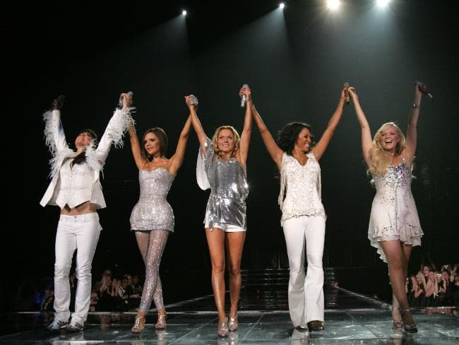 Looking fab in the sequined number on tour in 2007. Picture: MJ Kim/Spice Girls LLP