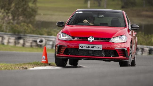 VW Golf GTI 40 Years is the pick of the GTI litter. Picture: Supplied