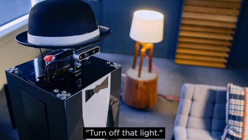 Gerard the butler robot.